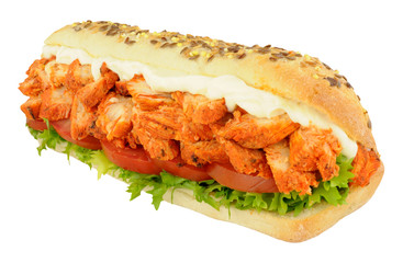 Chicken Tandoori Sandwich Sub Roll
