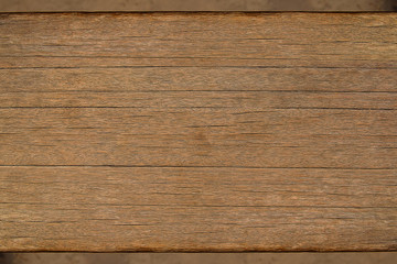 Detail surface of grunge brown wood, background and texture