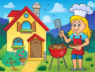 Barbeque theme image 6