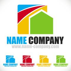 artisan peintre logo maison décorateur conseil