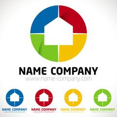 décorateur conseil artisan peintre logo maison