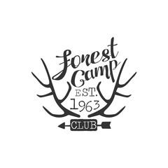 Forest Camp Vintage Emblem