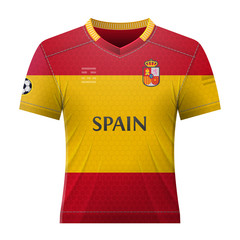 Soccer shirt in colors of belgian flag. National jersey for football ... ff73fef1a