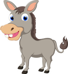 Funny Donkey Cartoon For you design