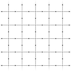 line pattern with crosses background