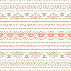 Ethnic seamless wallpaper. Repeat pattern. Vector.