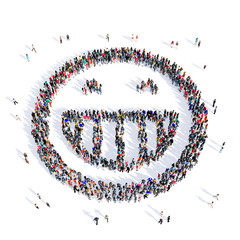 people 3d creative smiley