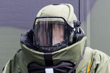 Schutzanzug Sprengstoff-Experte