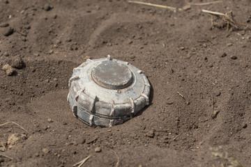 Symbolbild Landmine