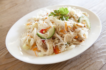 Spicy Thai Glass Noodle Salad