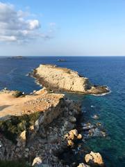 Zafer Burnu. The easternmost tip of Cyprus. Karpaz peninsula, North Cyprus. (Mobile photo)