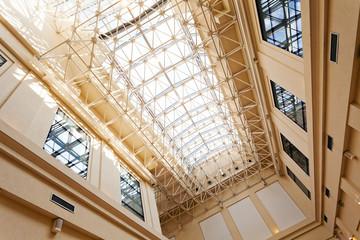 bright interior ceilings