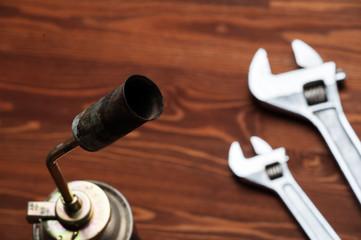 tools, a gas burner