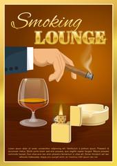 Smoking Lounge Poster