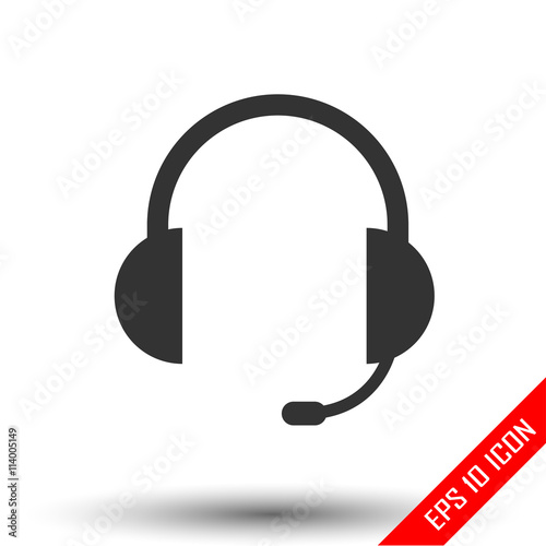 Pin Vector-of-earphone-dj-icon on Pinterest