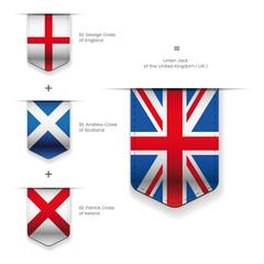 United Kingdom flag - England, Scotland, Ireland