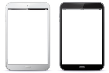 Tablet Computer Vector Illustration.