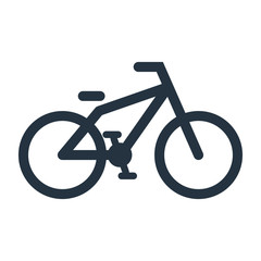 bike icon - travel 100 set