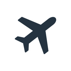 plane icon - travel 100 set