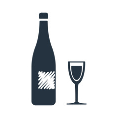 wine, glass icon - travel 100 set