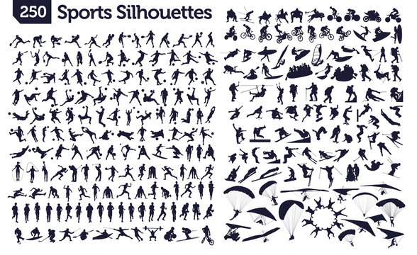 250 sport silhouettes