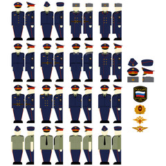 Casual uniforms of the Ministry of Justice