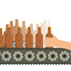 Beer design. illuistration