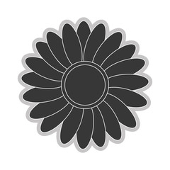grey flower icon
