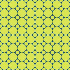 Polka dot geometric seamless pattern 25.06