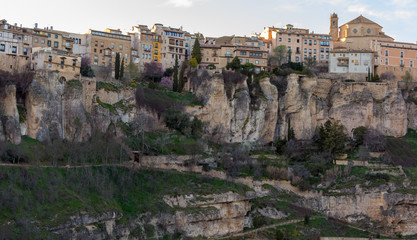 General view of the historic city of Cuenca, Spain
