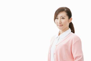白衣の看護師