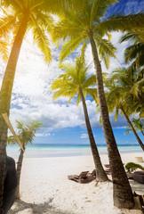 Peaceful beach resort