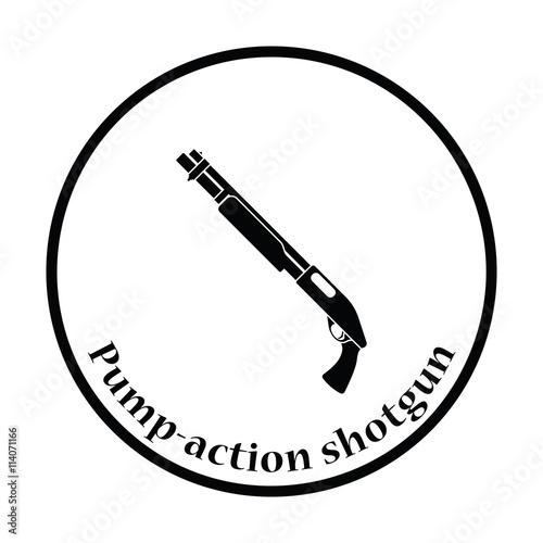 u0026quot pump-action shotgun icon u0026quot  stock image and royalty-free vector files on fotolia com