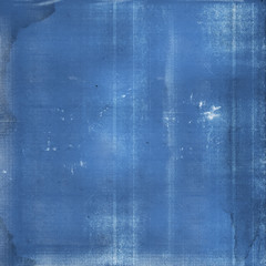 Blueprint paper stained