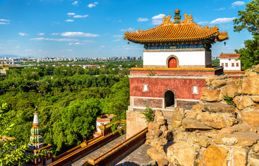 Four Great Regions Temple at the Summer Palace in Beijing