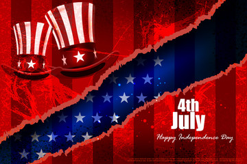 Fourth July, Independence day of America