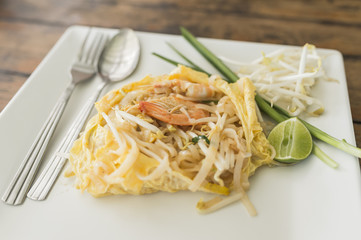 Pad Thai, A thai cuisine food