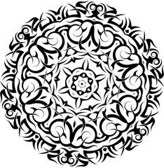 Tribal Tattoo M_1605010 Circular