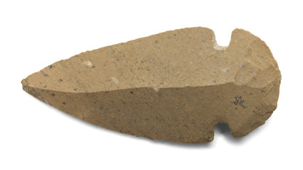 Brown Arrow Head