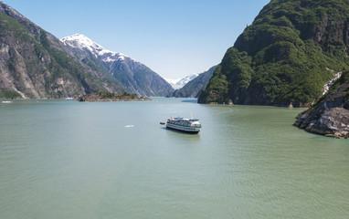 Tracy Arm fjord, Alaska, United States