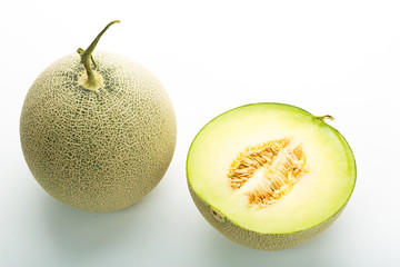 Green sweet melon
