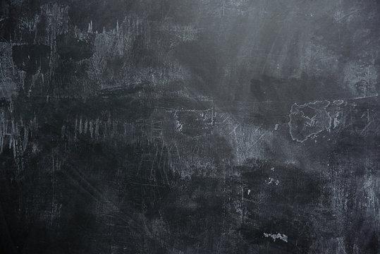 Empty black slate background