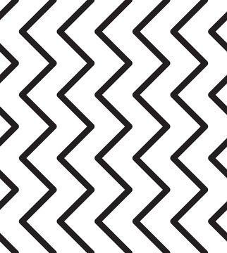 Universal striped zig zag seamless pattern