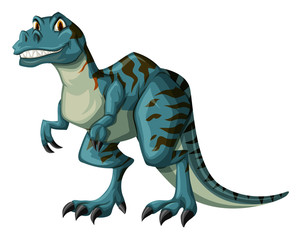 Dinosaur in blue color