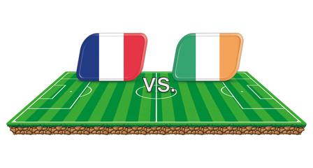 frankreich irland spielstand