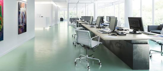 Büroeinrichtung 01 (panoramisch)