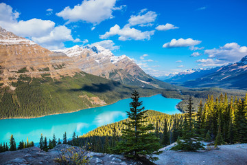 "Lake as a ""fox head"" is popular among tourists"
