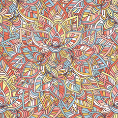 Ornamental indian pattern. Vector background. Illustration for wrapping paper, packaging design