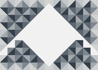 Abstract triangle background.