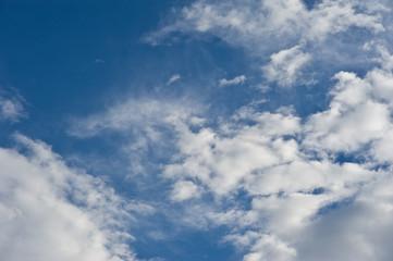beautiful white cloud cloudy nimbus blue sky nature landscape